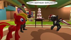 Happy B-day Explosive by mRcracer