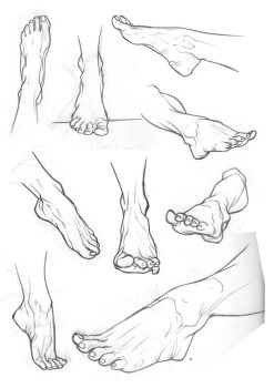 Sketchbook Feet 2 by Bambs79