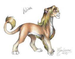 Adrian's design part 2 - colours by TigaLioness