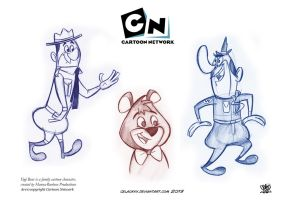 Yogi Bear is a family cartoon character by celaoxxx