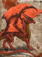 Red Dragon by Sheranuva