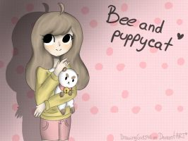 Bee and puppycat (speedpaint) by Drawing-Heart