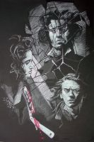 Poster for Sweeney Todd Contes by wynnart