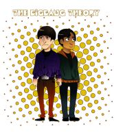 TBBT Howard and Raj by Irukachan