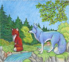 In the Woods by Joava