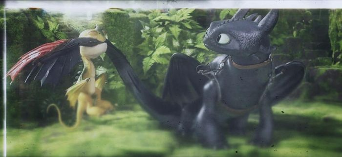 Toothless by Furyofthenight