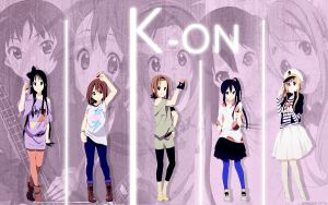 K-ON girls by bluestarlight97