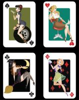 Playing Cards by KCretcher
