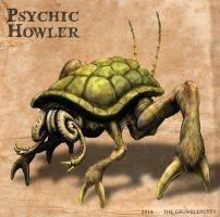Psychic Howler Color by Grumbleputty