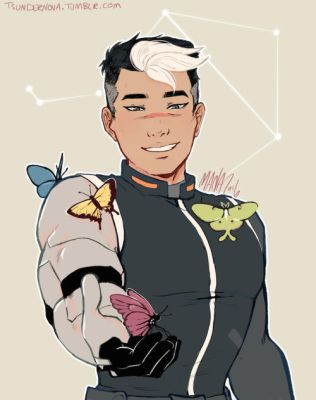 Voltron Legendary Defender: Shiro by Tsundernova