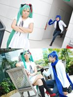 World is Mine: Miku x Kaito by z3LLLL