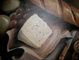 Still Life with Cheese by victoriaD