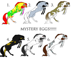 MYSTERY EGGS HATCHED by Dakaree