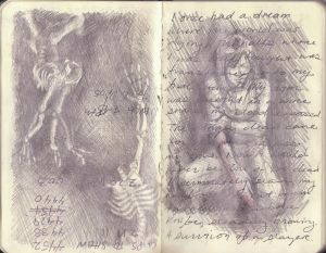 Sketchbook Weirdness and Dream