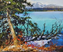 Brilliant Lac Beauvert,Jasper by artistwilder