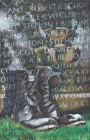 Memorial Wall by charlieblue666