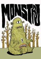 Monster 1 by burnay