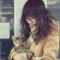 me and my cat by heiheirage