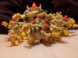 ~Bowser Bunch~ by Catty-Mintgum