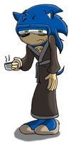 Sonic in the morning by Krispina-The-Derp