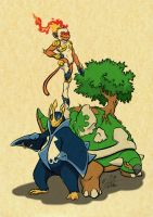 The Rulers of Sinnoh by WPgdea
