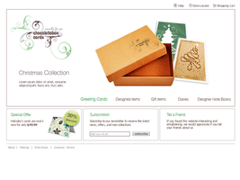 choclatebox website by dynamiteme