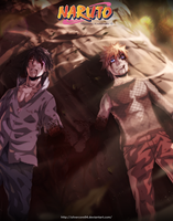 Naruto 698 - The end of their confrontation by SilverCore94