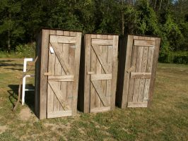 outhouses by ItsAllStock