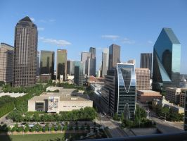 DOWNTOWN DALLAS, TEXAS by KerensaW