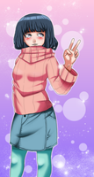 Cute Hinata Color by Cocodoo