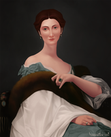 Catelyn Stark by luxandnox