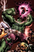 Hulk vs. X-Men by EDEX by StephenSchaffer