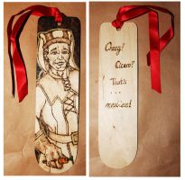 Skyrim bookmark: Cicero by BumbleBeeFairy