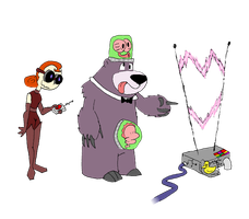 Girls and Ghouls_Evil ConCarne by Mr-M7