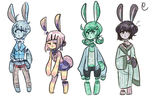 Bloody Bunbuns Adopts #1 CLOSED by hanecco