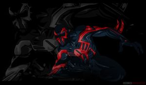 Spiderman: 2099 by noshouting