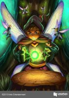 Struggling Wizard by LESEHAN