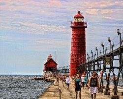 Tourists love Lighthouses by pubculture