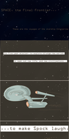 101 Ways to Make a Vulcan Laugh: 001 by TheVeggieSalad