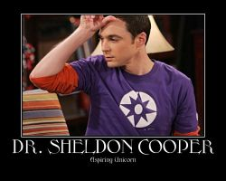 Sheldon Cooper Unicorn by fantasyaddict101
