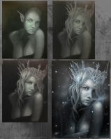 Blizzard Queen Phases by RushLightInvader