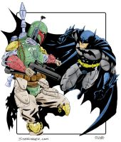 GvN 11 Batman vs Fett by cajunthief