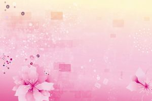 Pink-Flowers-Background by vectorbackgrounds