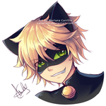 Chat Noir (experiment) by Canariam