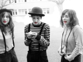 The mimes by Mon-Automn