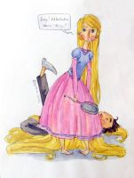 Rapunzel's victims by button-bird