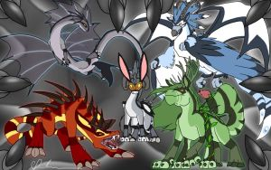 Myth's elements by zonkey