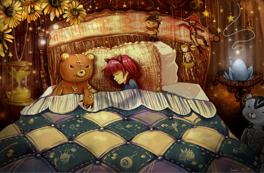 Annie's Bedroom by Guava-Pie