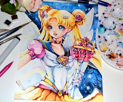 Eternal Sailor Moon by Lighane