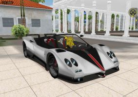 Gehenna as Racer in Pagani Clique by Enclave-Triguard